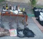 هلاکت ۴ نفر از اشرار مسلح در هرمزگان/ کشف پرچم داعش/ ۲ نفر از آنها اتباع بیگانه بودند/ تصاویر
